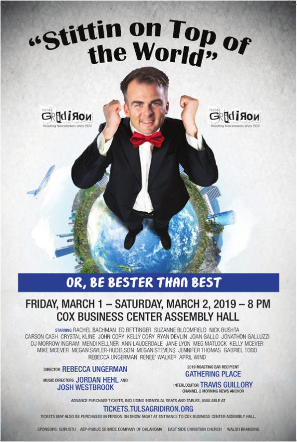 Tulsa Gridiron 2019 Show Poster